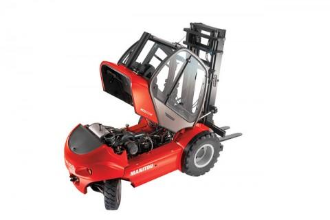 Wózek widłowy spalinowy MSI 40