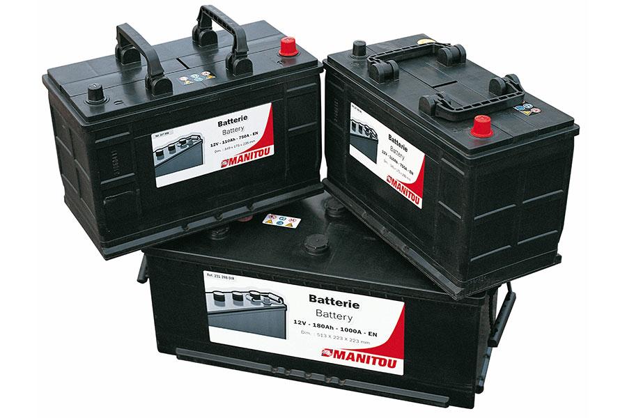 Części Manitou - baterie