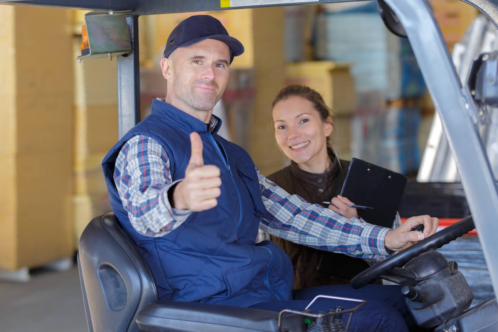 Operatorzy muszą przechodzić psychotesty na wózki widłowe