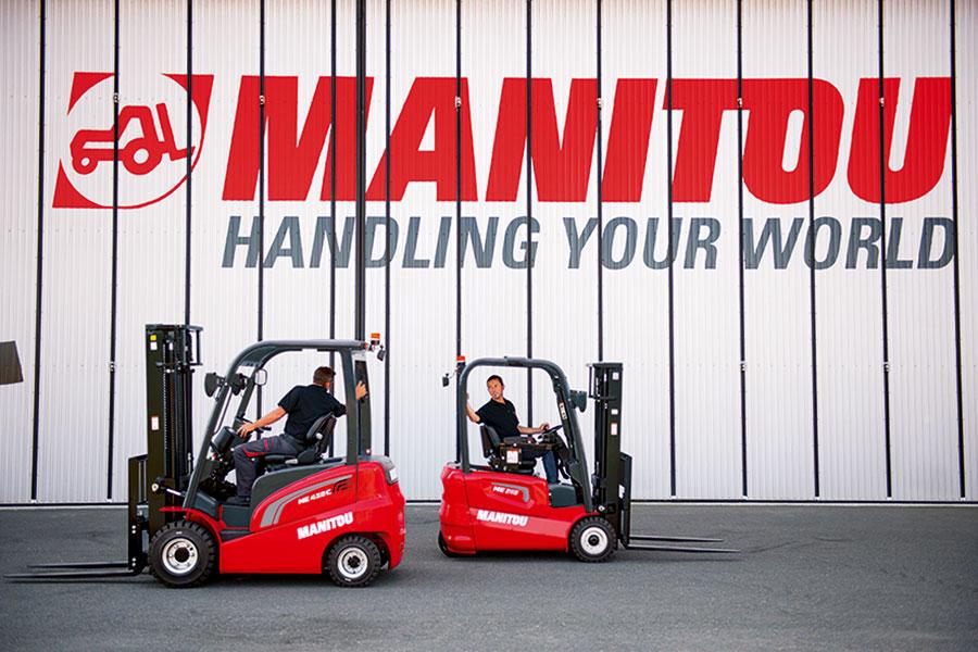 Wózki widłowe elektryczne Manitou